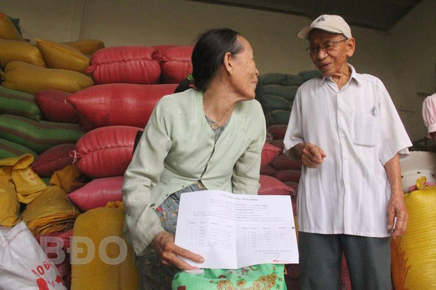 Binh Dinh gets rice relief hinh anh 1