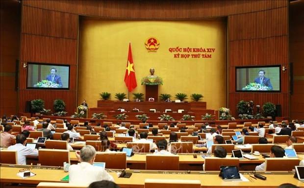 NA's eighth session: deputies scrutinize State budget-related issues hinh anh 1