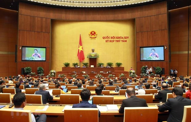 Eighth session of 14th-tenure National Assembly opens hinh anh 1