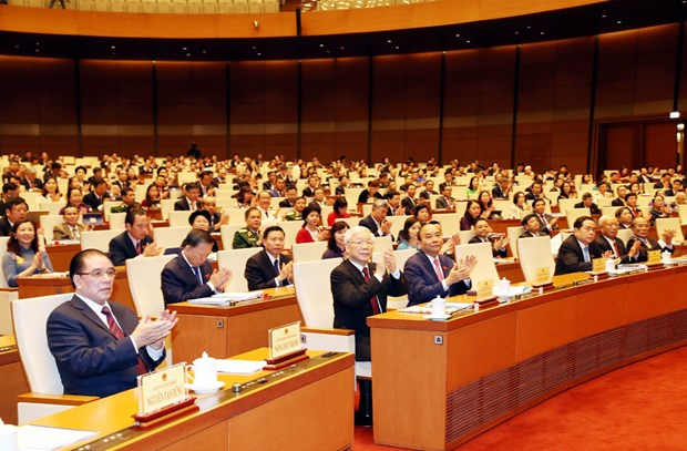 First working day of NA's 8th session hinh anh 1