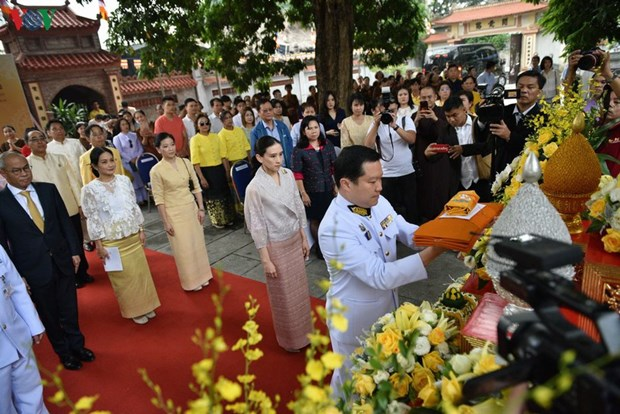 Hanoi ceremony to hand over offerings from Thai King hinh anh 1