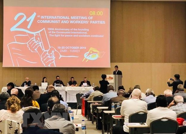 Vietnam joins meeting of communist, workers' parties in Turkey hinh anh 1