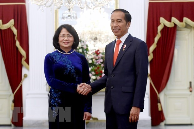 Vice President attends inauguration of Indonesian leaders hinh anh 1