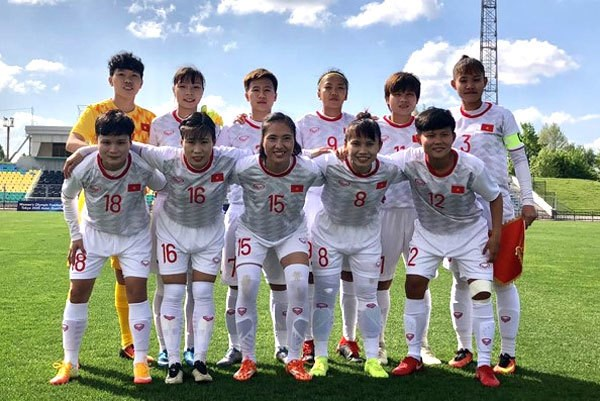 VN's female football team in Group A of Olympic 2020 Asian qualifiers hinh anh 1
