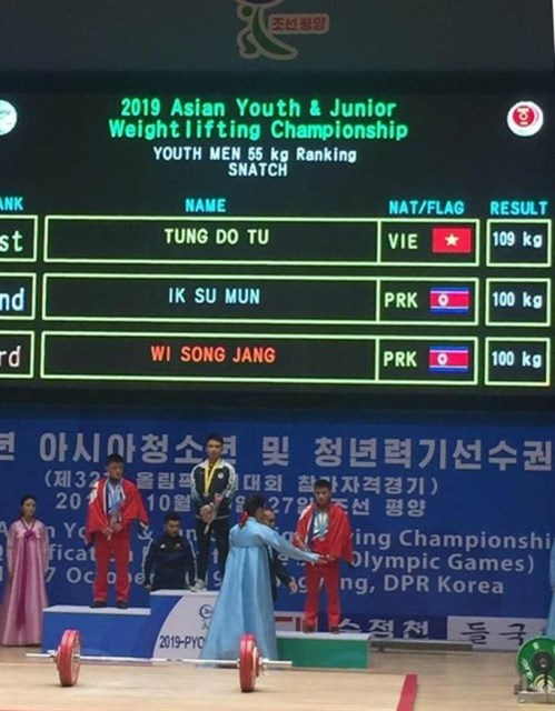 Vietnam wins 7 golds at Asian youth weightlifting championship hinh anh 1