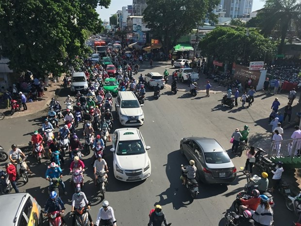 HCM City ensures traffic safety and order hinh anh 1