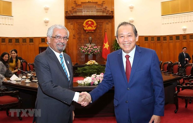 UN a priority in Vietnam's foreign policy: Deputy PM hinh anh 1
