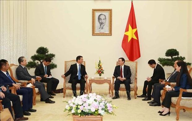 Vietnam treasures ties with China's Yunnan province: Deputy PM hinh anh 1