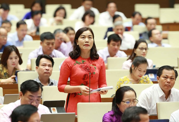 Draft revised Labour Code under focus at NA on October 23 hinh anh 1
