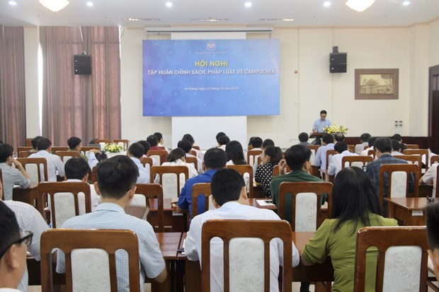 Conference promotes building of peaceful Vietnam-Cambodia border hinh anh 1