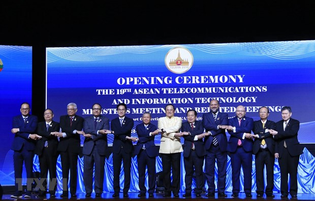 Vietnam joins 19th meeting of ASEAN telecommunication chiefs hinh anh 1