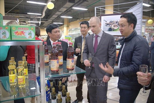 Thanh Hoa province promotes trade in Russia hinh anh 1
