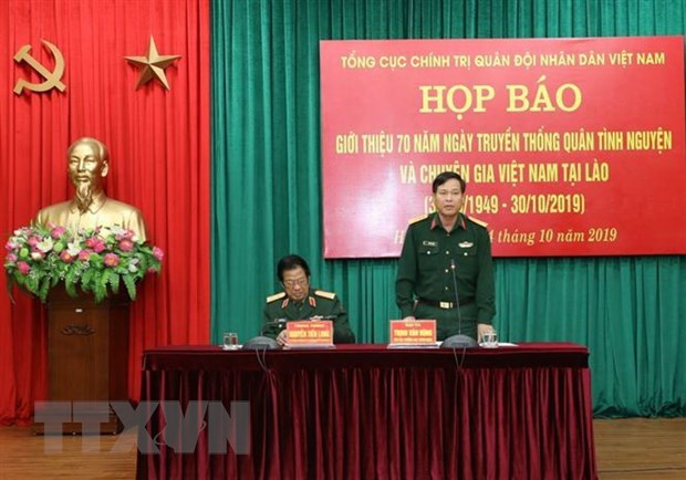 Activities planned to mark 70th Day of Vietnamese voluntary soldiers, experts in Laos hinh anh 1