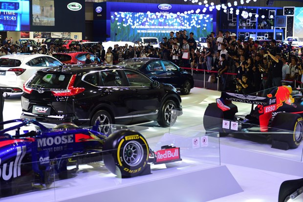 Vietnam Motor Show kicks off in HCM City hinh anh 1