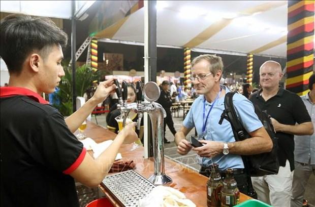 Belgian beer festival underway in Hai Phong hinh anh 1