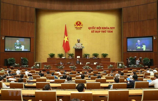 Fifth working day of NA's 8th session hinh anh 1