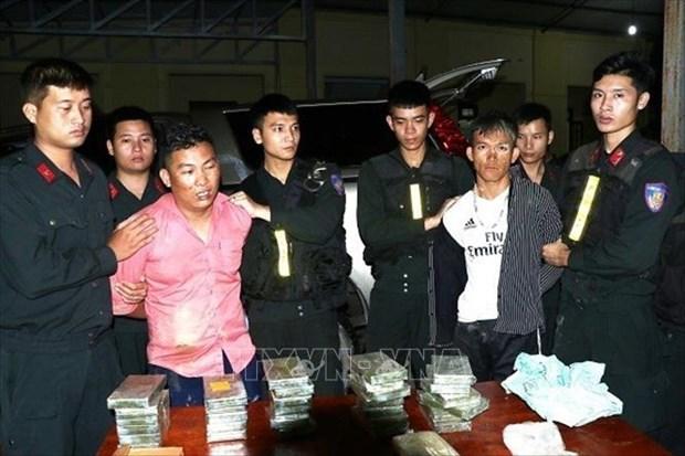 Ha Tinh busts large drug trafficking ring hinh anh 1