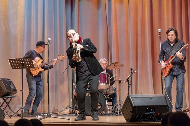Vietnam-Russia jazz concert held in Moscow hinh anh 1