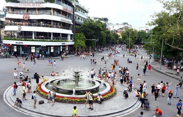 Hanoi plans to ban vehicles in nine streets around Hoan Kiem Lake hinh anh 1