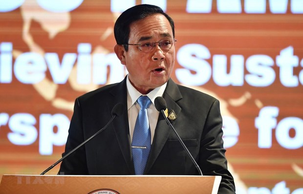 Thailand actively makes preparations for 35th ASEAN Summit hinh anh 1