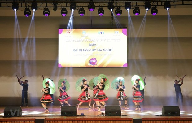 Vietnamese students in RoK gather for 15th festival hinh anh 1