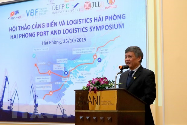 Workshop talks opportunities to develop logistics services in Hai Phong hinh anh 1