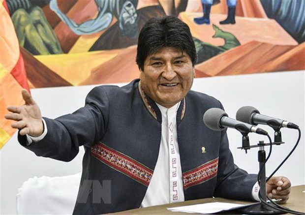 Congratulations to Bolivian President hinh anh 1