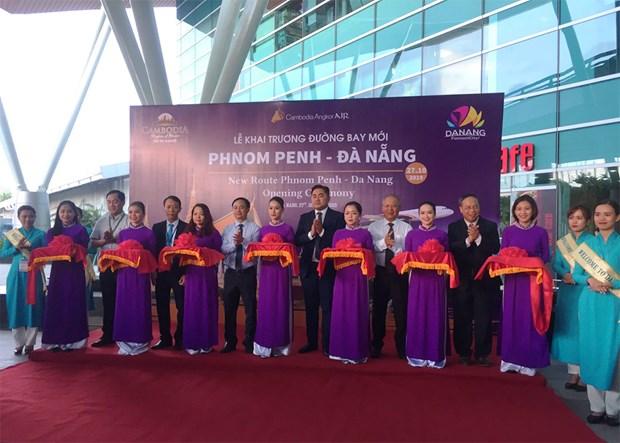 Angkor Air launches Phnom Penh-Da Nang flight service hinh anh 1