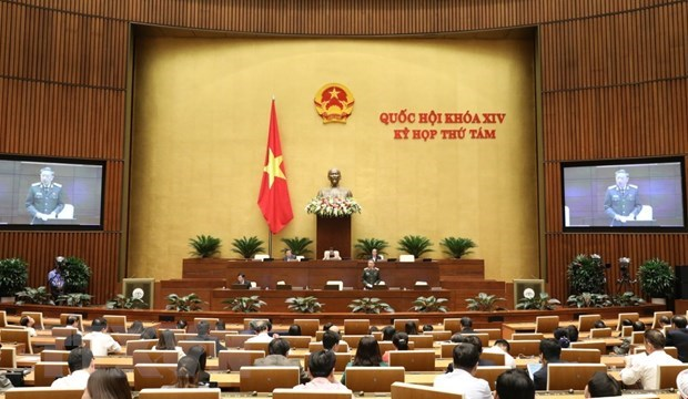 Sixth working day of 14th NA's eight session hinh anh 1