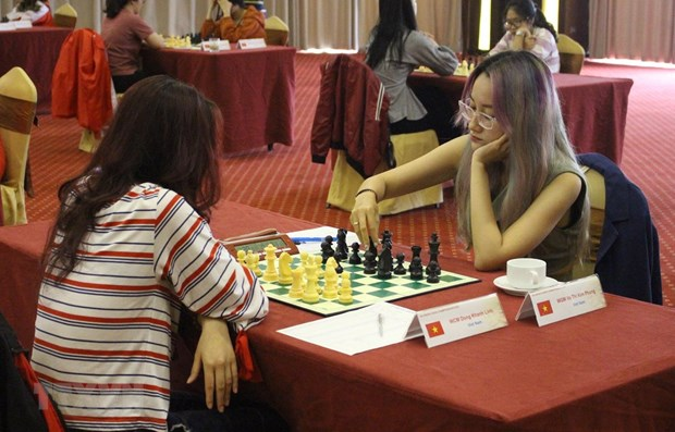 Southeast Asia chess championship 2019 opens in Bac Giang hinh anh 1