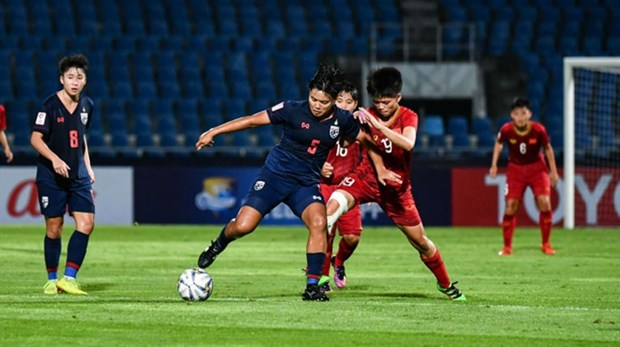 Vietnam beat Thailand in AFC U19 Women's Championship hinh anh 1
