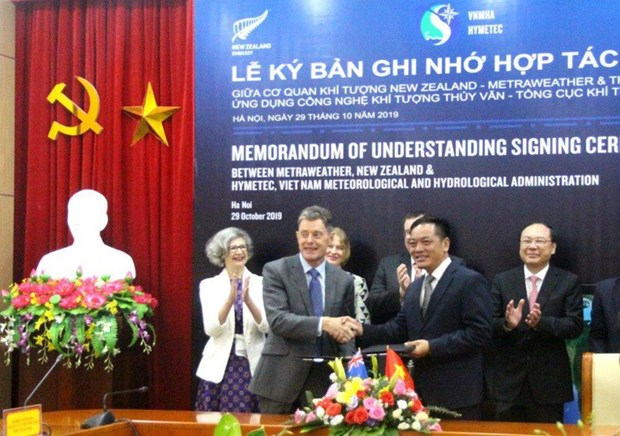 Vietnam, New Zealand to cooperate in weather forecast hinh anh 1