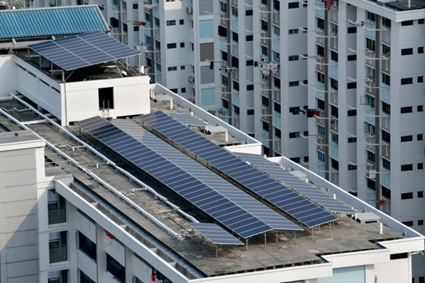 Singapore plans to step up solar energy production hinh anh 1