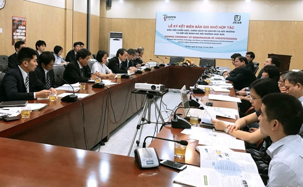 Japan helps Vietnam's institute build capacity in environmental issues hinh anh 1