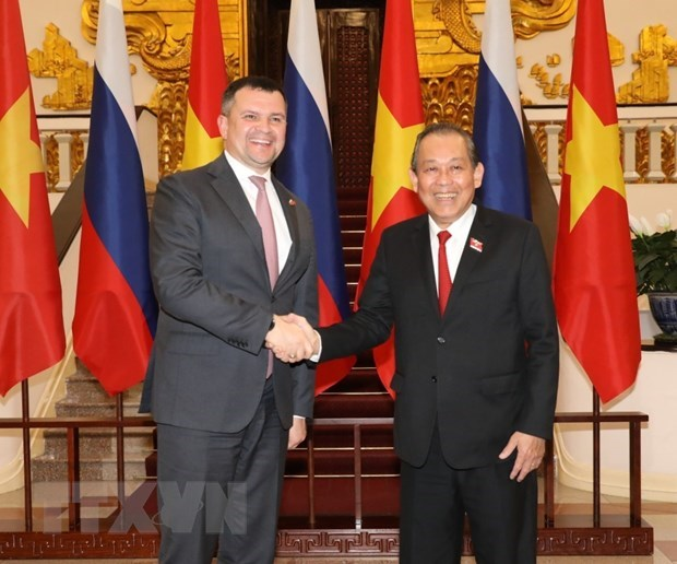 Vietnam supports Russia in enhancing role in Asia-Pacific: Deputy PM hinh anh 1