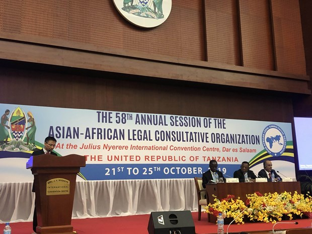 Vietnam stresses multilateralism at Asian-African organisation's meeting hinh anh 1