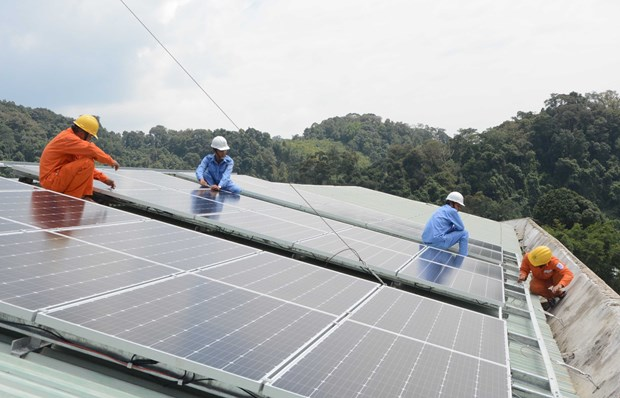 French Development Agency funds EVN's solar power project hinh anh 1