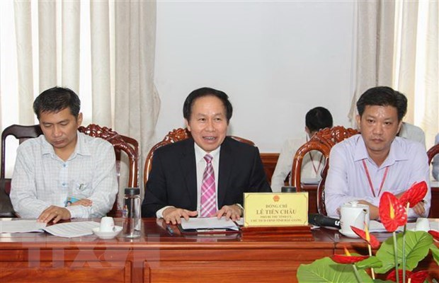 JETRO studies investment climate in Hau Giang hinh anh 1