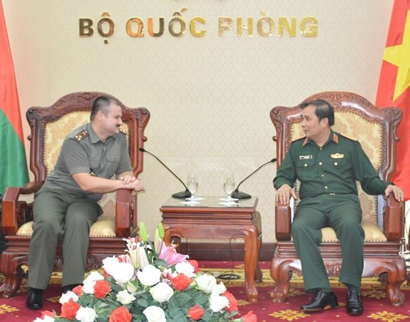 Vietnam, Belarus enhance cooperation in military science hinh anh 1
