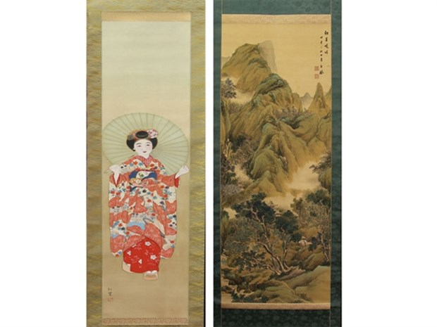 Vietnam receives precious paintings from Japan hinh anh 1