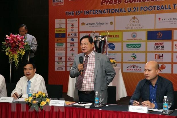 International U21 football tournament to open in Da Nang hinh anh 1