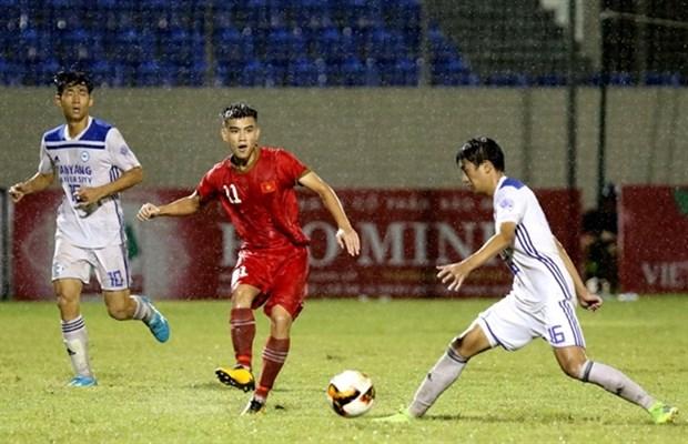 Vietnam beat Hanyang University in int'l U21 football champs hinh anh 1