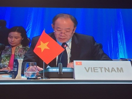 Vietnam attends 36th Ministerial Conference of the Francophonie hinh anh 1