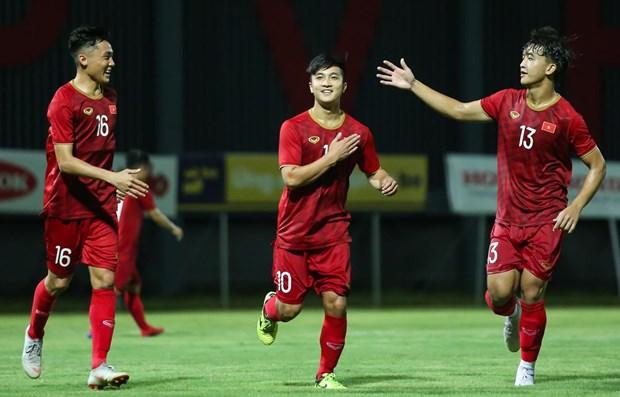 Vietnam U22 team set sights on SEA Games gold hinh anh 1