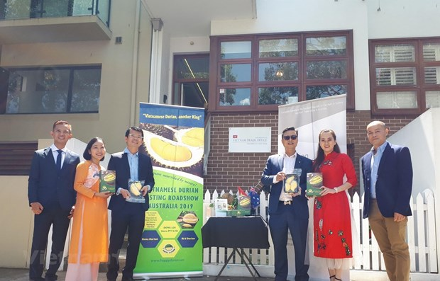 Vietnamese durian trademark promoted in Australia hinh anh 1