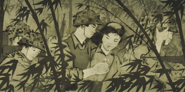 Exhibition in Singapore features Vietnamese wartime artists hinh anh 1