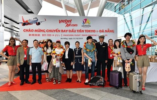 Vietjet Air launches Da Nang-Tokyo air route hinh anh 1