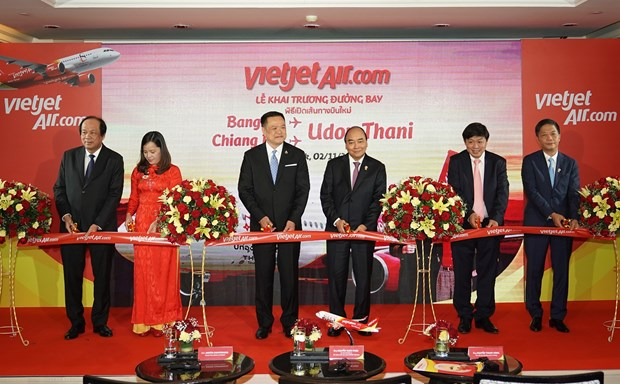 New air routes launched between Vietnam, Thailand hinh anh 1