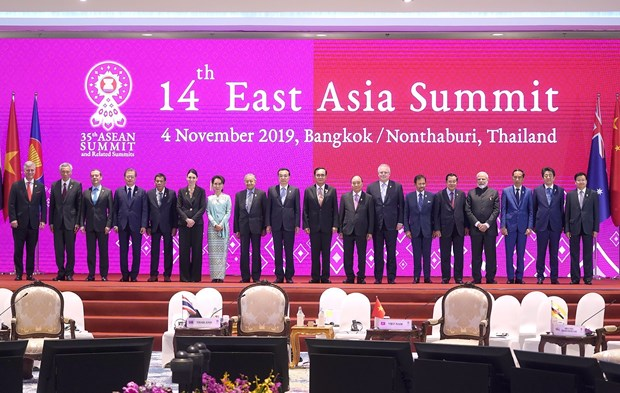East Sea issue high on agenda of 14th East Asia Summit hinh anh 1