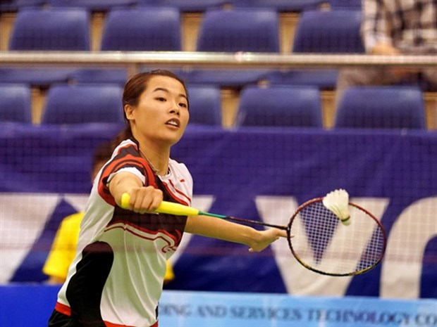 Female badminton player wins silver at Hungarian int'l tournament hinh anh 1